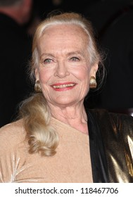 Shirley Eaton arriving for the Royal World Premiere of 'Skyfall' at Royal Albert Hall, London. 23/10/2012