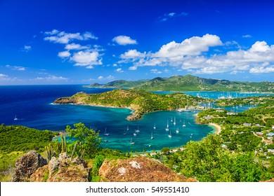 Shirley Heights, Antigua view.