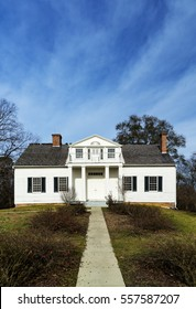 The Shirley House is a historical civil war structure in Vicksburg National Military Park in Vicksburg, Mississippi