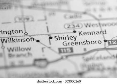 Shirley. Indiana. USA