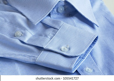 Shirt details in macro shot