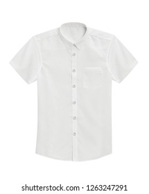 Shirt isolated on a white background with clipping path.