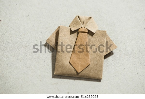 EASY ORIGAMI SHIRT FATHER'S DAY CARD | 409x600