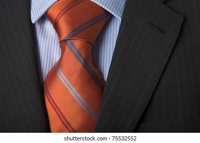 Shirt & Tie with copy area