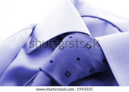 941ff2e83bb438 Shirt Tie On White Background Stock Photo (Edit Now) 1943035 ...