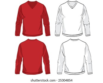 Shirts with long sleeves
