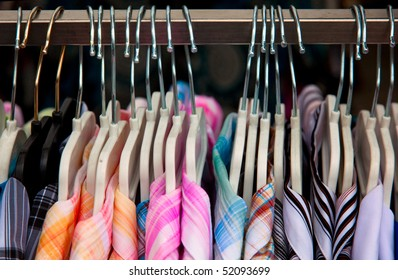 shirts in a row on the market
