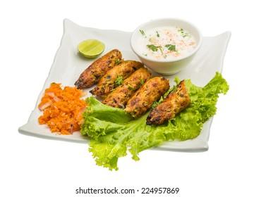 Shish kebab - traditional Indian cuisine