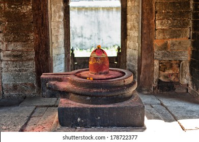 shiva lingam of Pashupatinath temple and cremation ghats, Khatmandu, Nepal