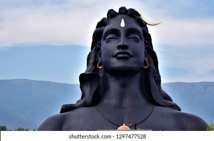 shiva statue Coimbatore Tamil Nadu India
