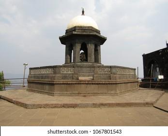 Shivaji Maharaj's Samadhi form Raigad Fort
