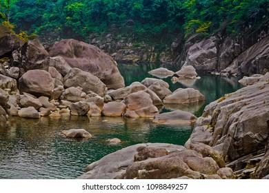 Shnongpdeng, Tourist Destination, Meghalaya, Khasi Hills, India