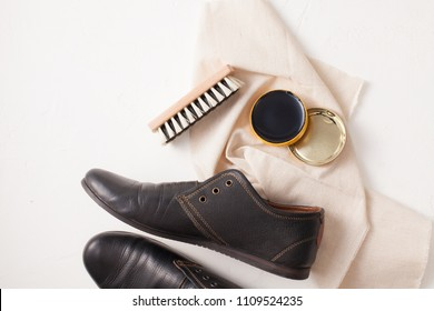 Shoe care cream. Use of eco-friendly materials in Shoe Polish.