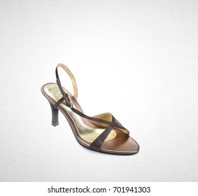shoe or lady shoes isolated on background