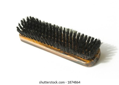 Shoe shine brush