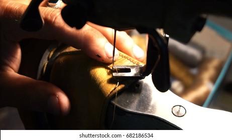 Shoemaker repairing shoes Workshop 4k