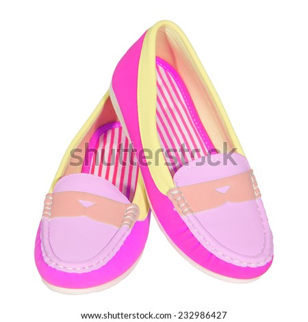 13185b1e9 shoes ballet flats multicolored baby female white background isolated