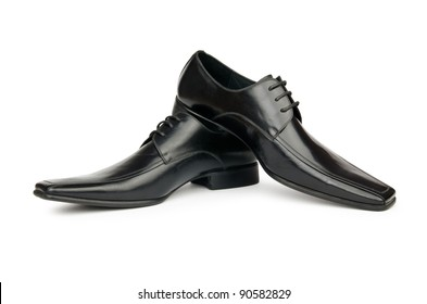 Shoes isolated on the white