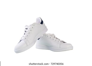 Shoes isolated on white background with clipping path