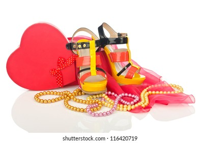 Shoes and other woman accessories