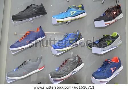 36163b8ef385b Shoes Sale Emporium Shopping Mall Lahore Stock Photo (Edit Now ...