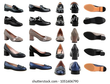 Shoes set from different angles