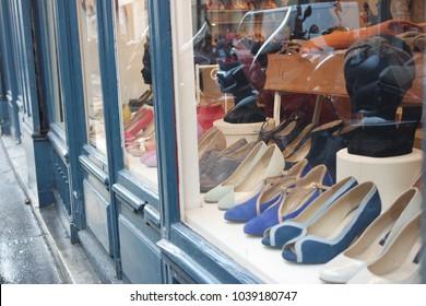 shoes shop window