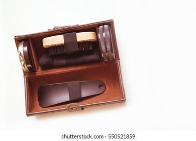 Shoeshine set