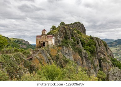 Shoininski Church in Karachay-Cherkessia. The Caucasus - Russia