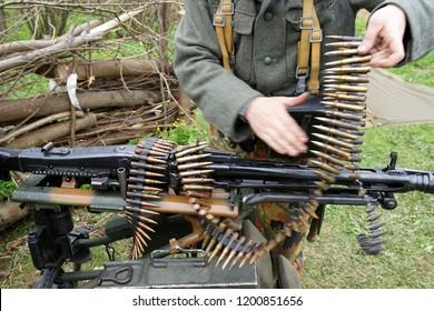 Mg42 Machine Gun Images, Stock Photos & Vectors | Shutterstock