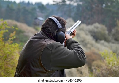 shooter with the shotgun