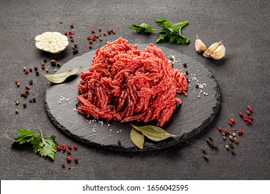 Shooting for the catalog. Raw meat products, different parts of the body. pork, beef, chicken. background image, copy space text - Shutterstock ID 1656042595