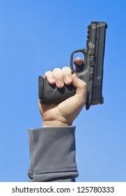 Shooting a Hand Gun