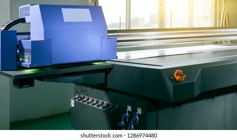 Shooting of large printing machines
