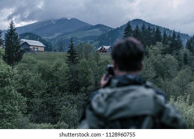 shooting the mountain