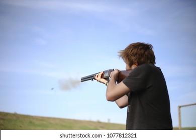Shooting Range Shotgun Clay Pigeon Hunting