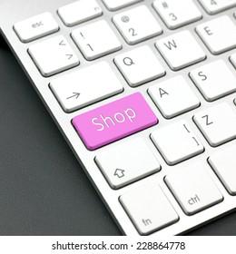 shop button on keyboard