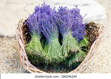 Shop in Provence decorated with lavender and vintage things - Shutterstock ID 260246144