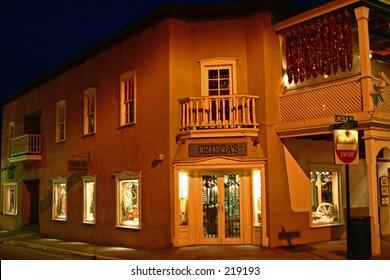 A shop in Santa Fe, New Mexico
