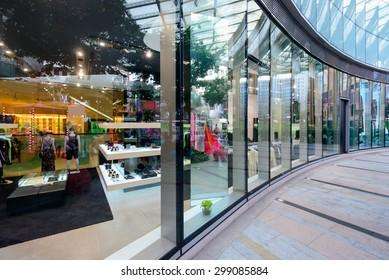 shopfront display window