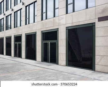 Shopfront with large windows