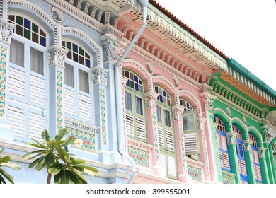 Shophouses in Joo Chiat, Singapore