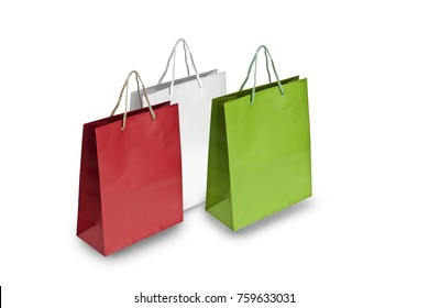 shopper  as the italian flag
