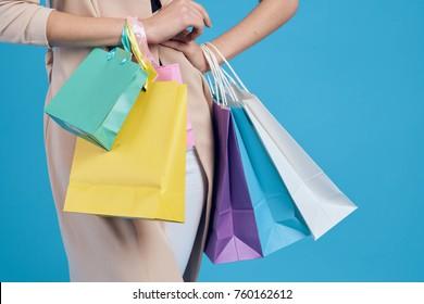 shopping background, discounts, fashion