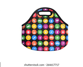 shopping bag on a while background