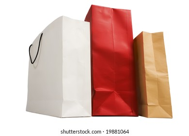 shopping, bag, paper, merchandise, consumerism, customer, buy, isolated