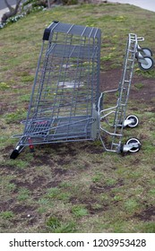 shopping cart metal abandoned abandoned cart,abandoned,shopping basket,shopping cart,shopping cart metal abandoned trolley shop abandoned,background,green,metal abandoned,nature,old,outdoor,transporta