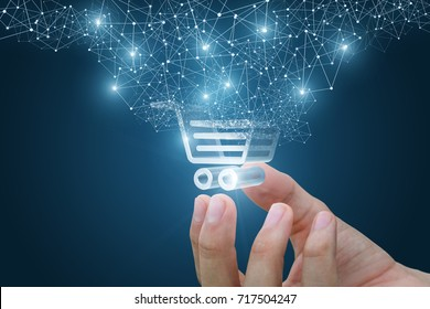 Shopping cart as part of the network in hand . The concept of Innovation in e-Commerce.