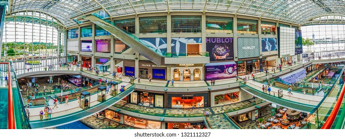 shopping center in Singapore - 12/05/2018