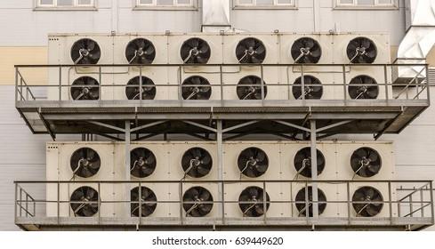 Shopping center ventilation system